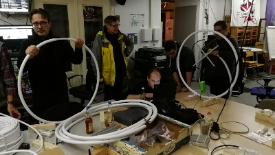 Manetic Loop Antennenworkshop